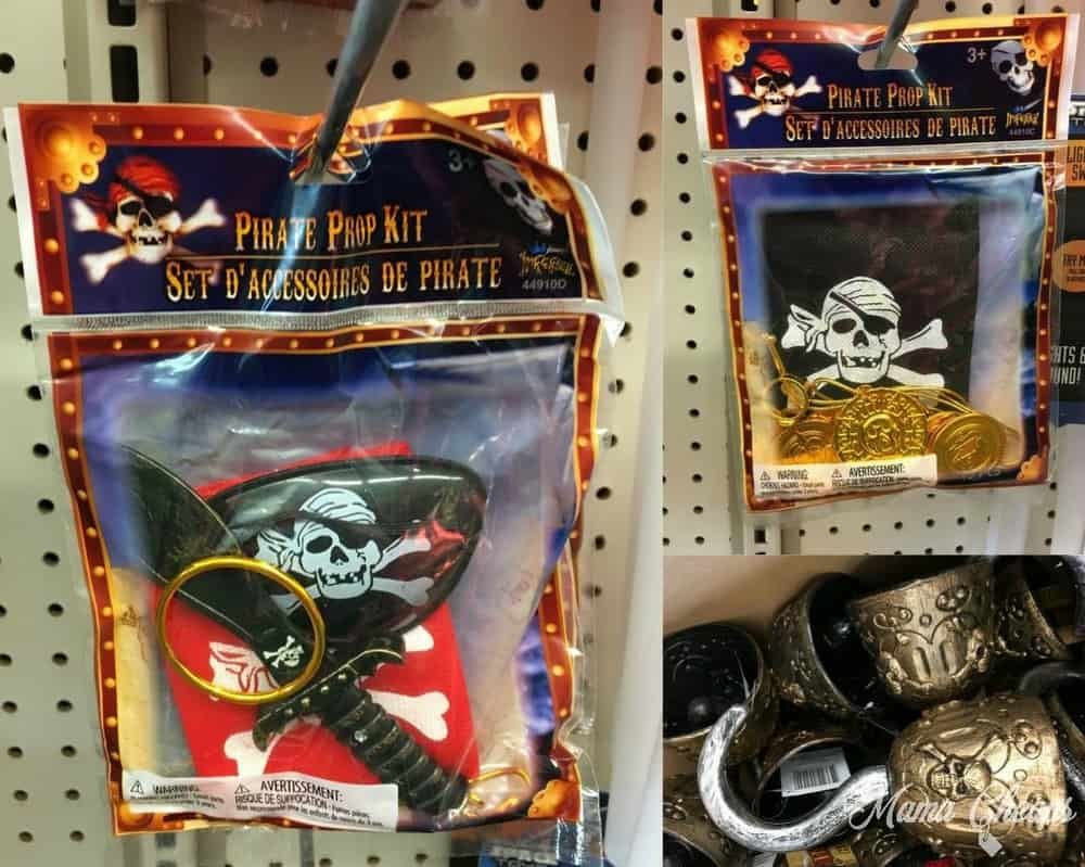 dollar store pirate costumes