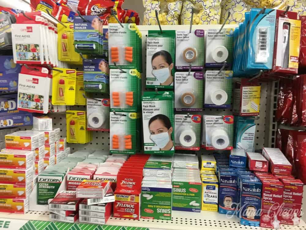 first aid dollar store