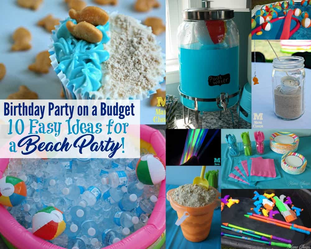 Diy Beach Party Decorations Ideas Project