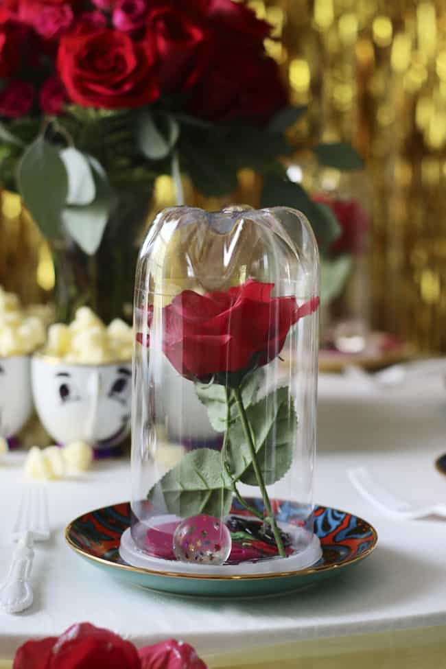 16 Beauty And The Beast Inspired Party Ideas Mama Cheaps