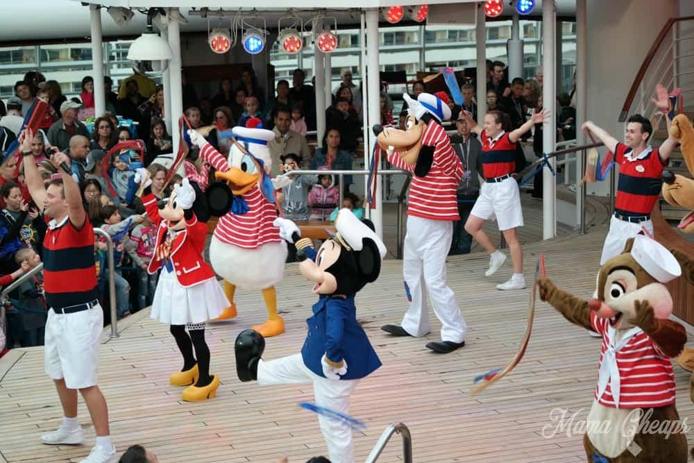 Disney Cruise Sail Away Party
