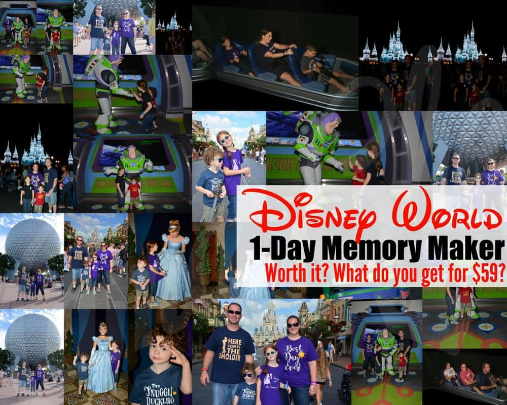 Disney World Memory Maker Package Deal