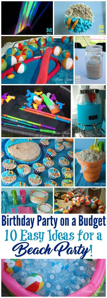 Easy Ideas for a Beach Party