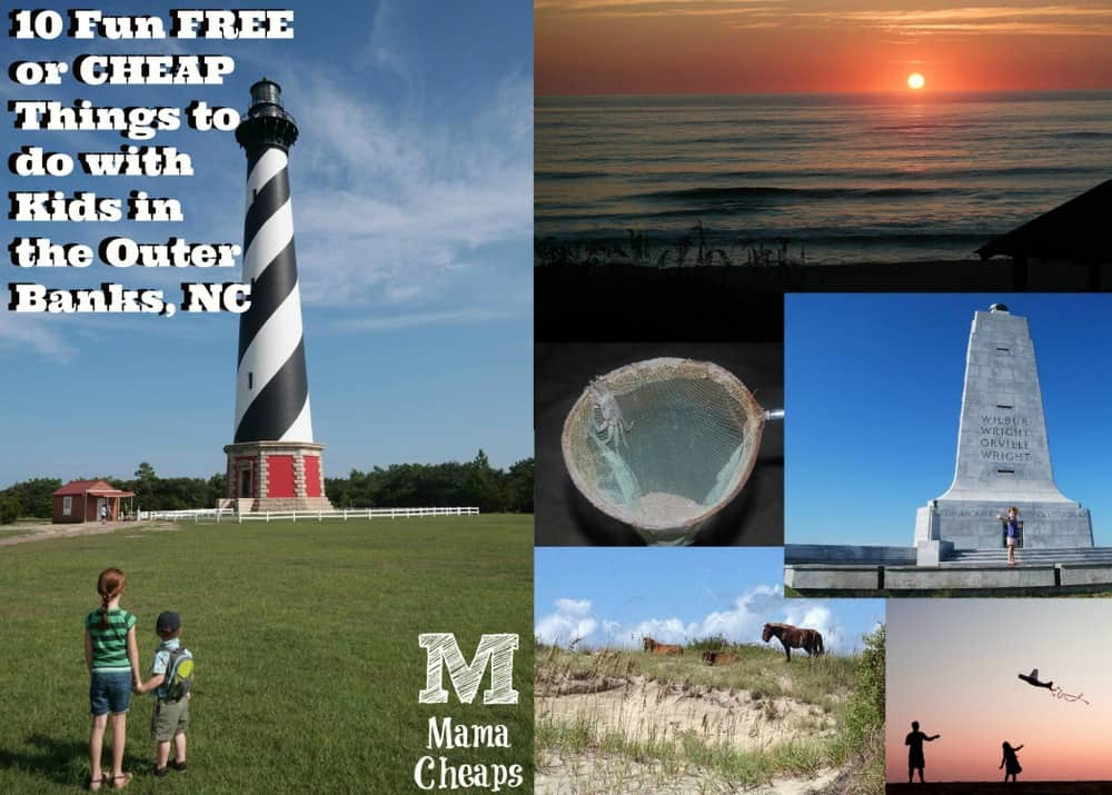 Free Stuff in Outer Banks for Kids