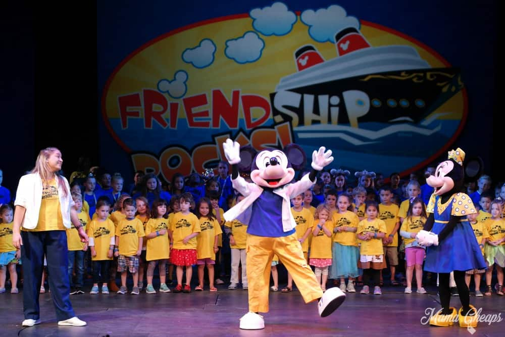 Friendship Rocks Disney Magic Cruise