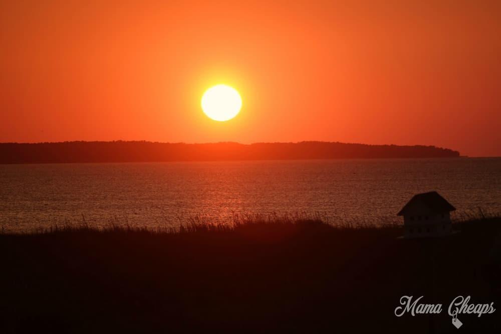 Outer Banks Sunset Pamlico Jacks