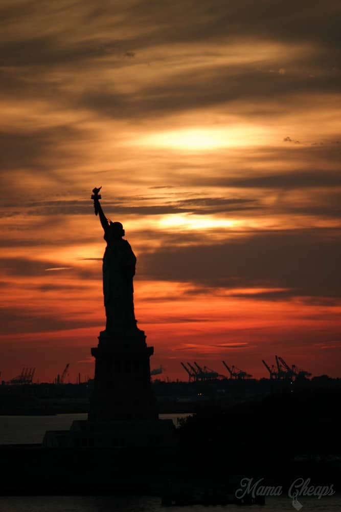Statue of Liberty Disney Cruise