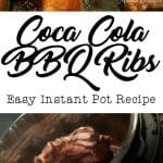 Coca Cola BBQ Ribs Instant Pot Recipe