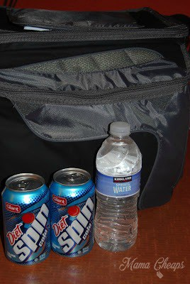 Cooler with Soda