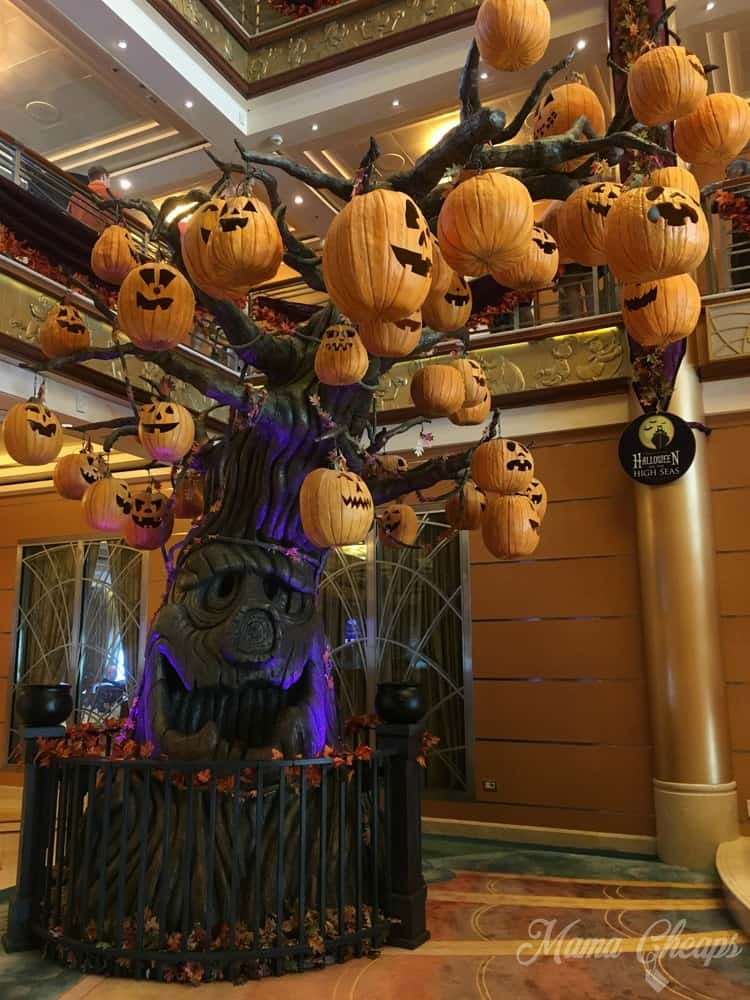 Disney Cruise Pumpkin Tree Full