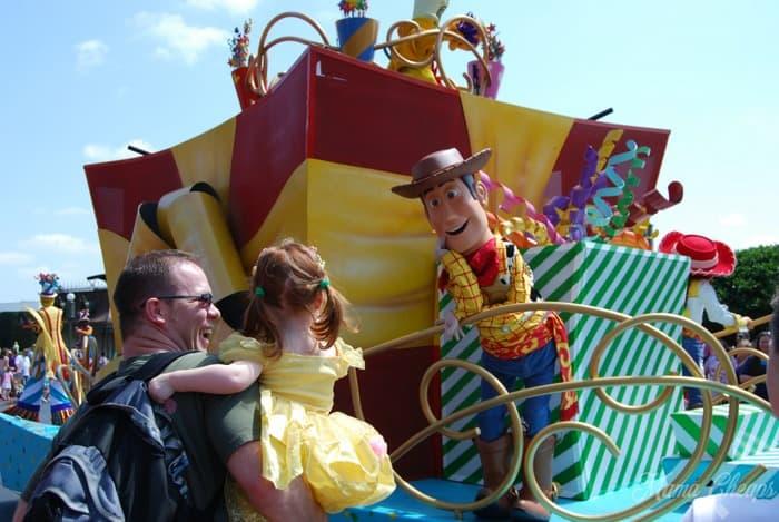 Disney Woody Parade