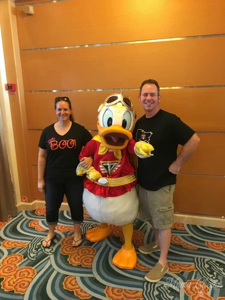 Halloween Donald Duck