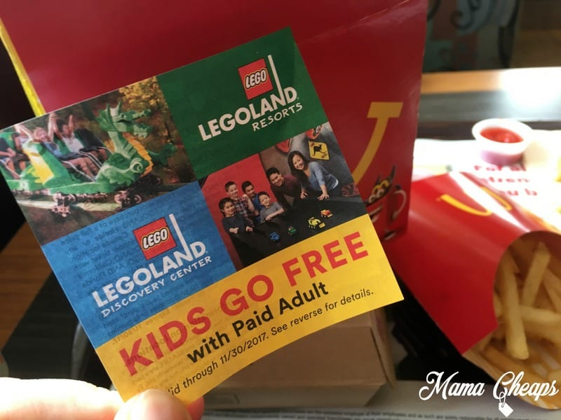 Legoland california discount coupons