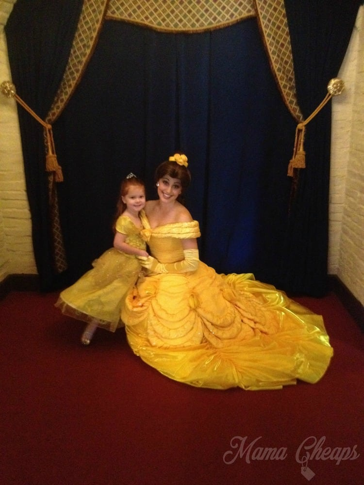 Lily with Belle at Akershus
