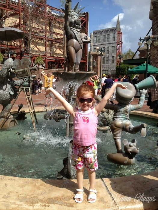 Muppets Fountain Hollywood Studios