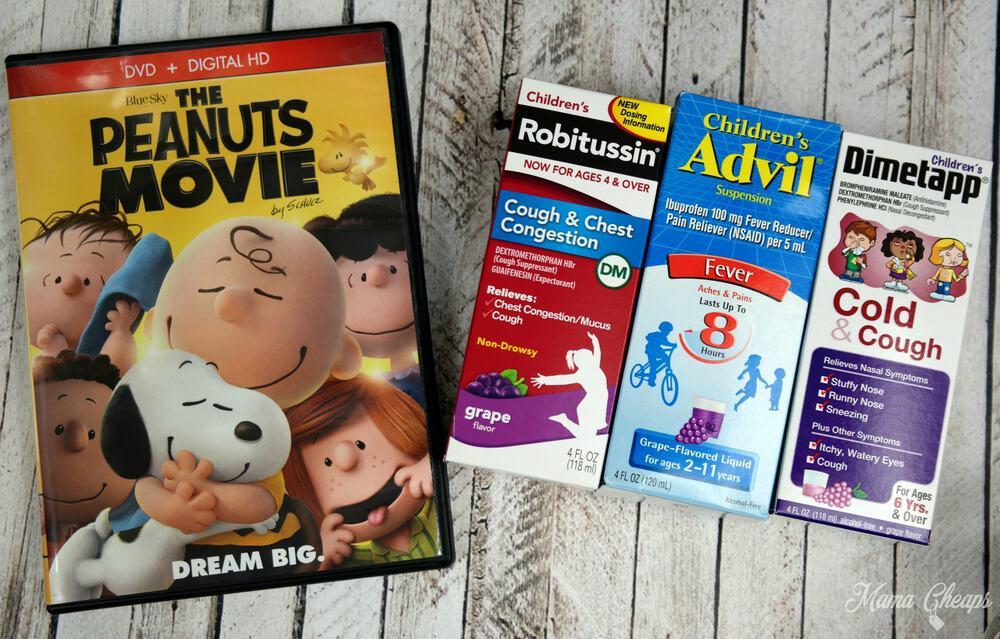 Peanuts Movie Pfizer Medicine