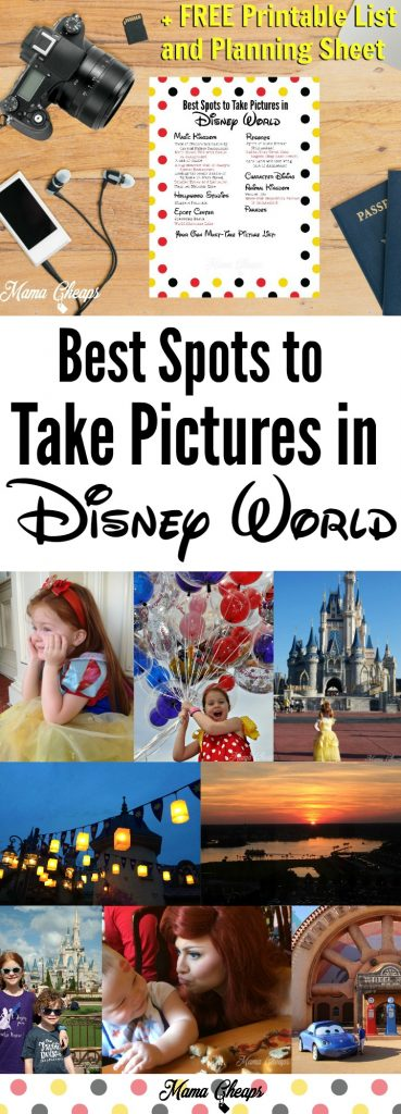The Best Spots to Take Pictures in Disney World