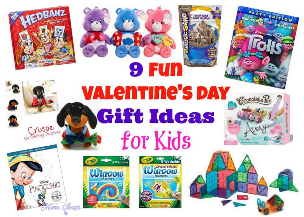 9 fun valentines day gift ideas for kids mama cheaps - Valentines Gift Ideas For Kids