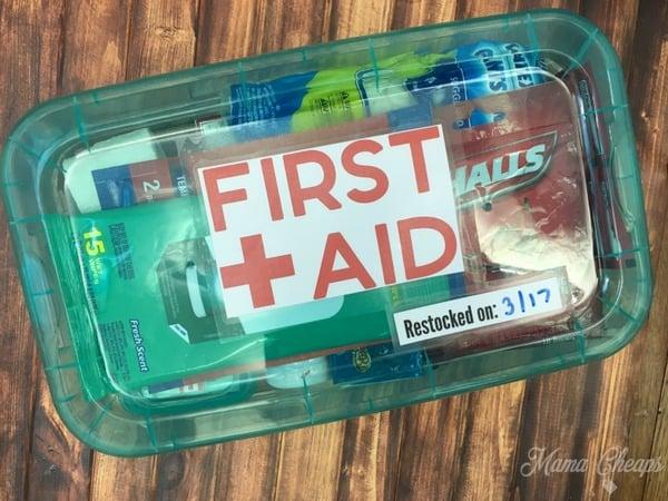 DIY First Aid Kits