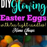 DIY Glowing Easter Eggs