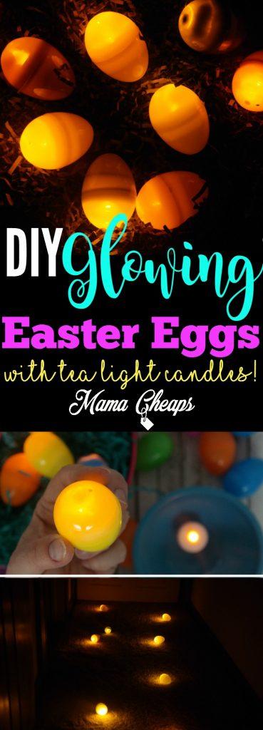 DIY Glowing Easter Eggs