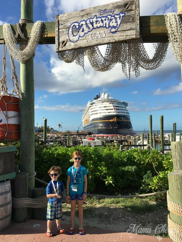 Disney Castaway Cay Island Photo Spot