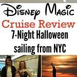 Disney Magic Cruise Review Halloween NYC Sailing