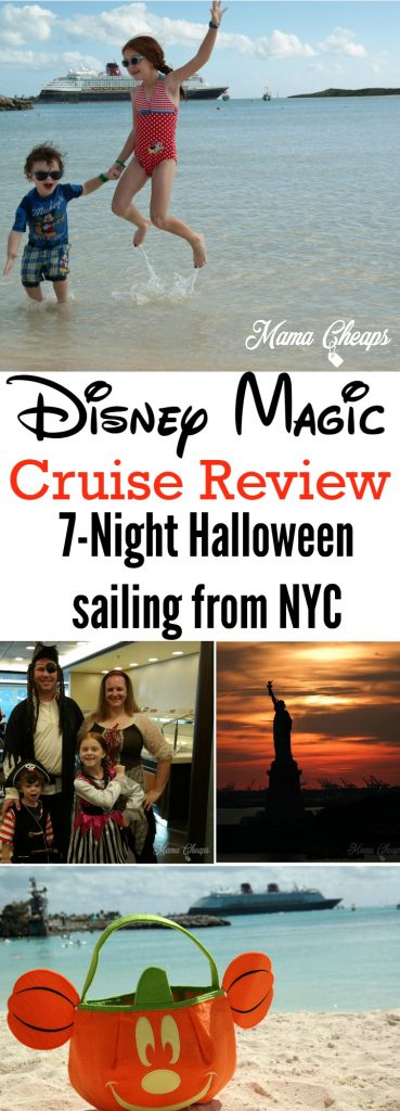 Disney Magic Cruise Review Halloween NYC Sailing