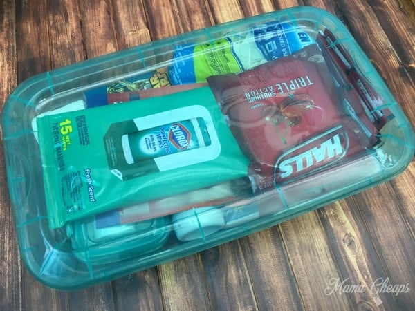Dollar Store First Aid Kit
