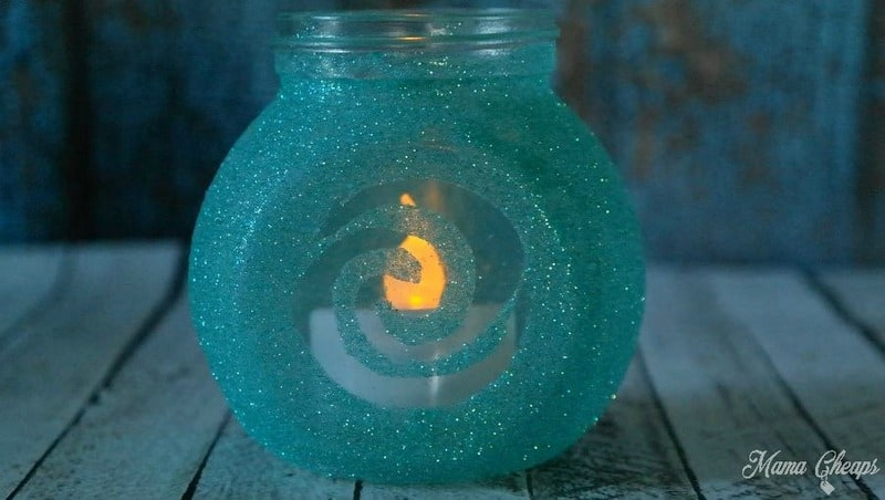 Heart of Te Fiti Jar in Low Light