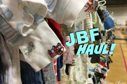 JBF Consignment Sale Haul
