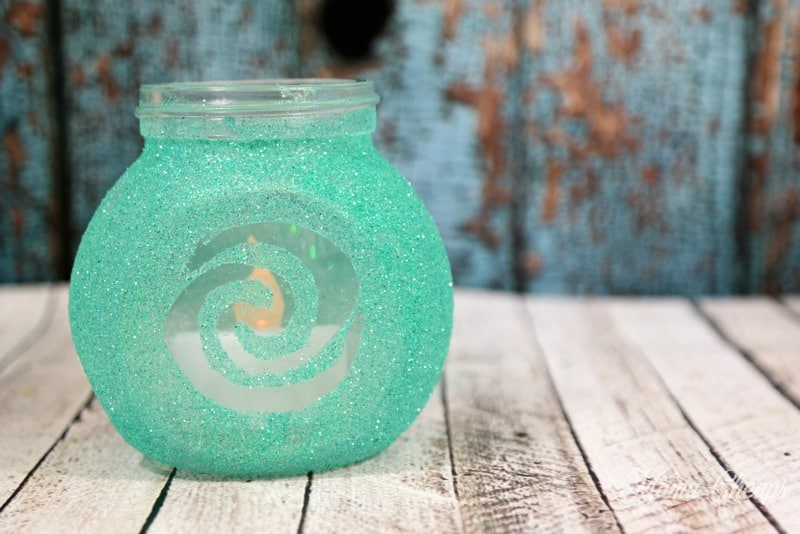 Moana Craft Flicking Candle Jar