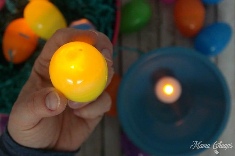Tea Light in Egg