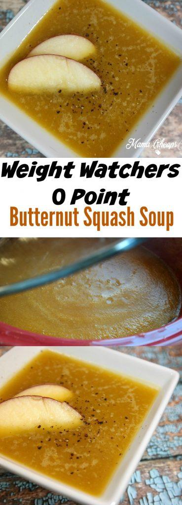 Weight Watchers Butternut Squash Soup
