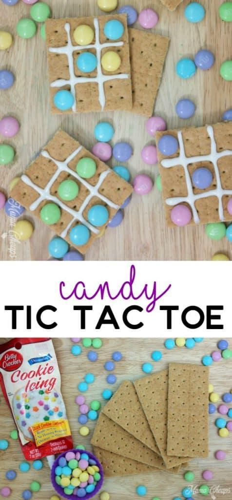 Candy Tic Tac Toe