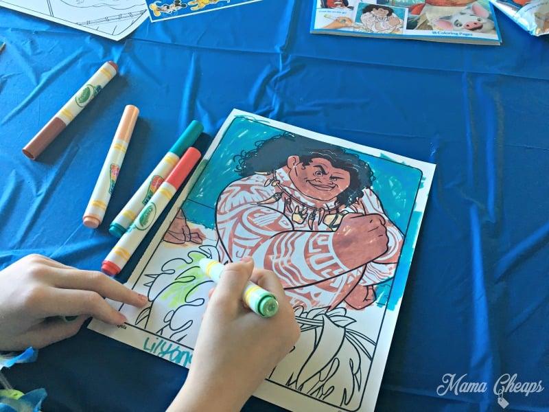 Crayola Maui Coloring Page
