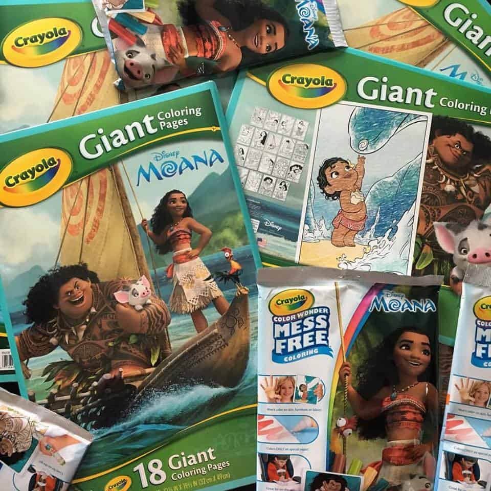 Crayola Moana Products