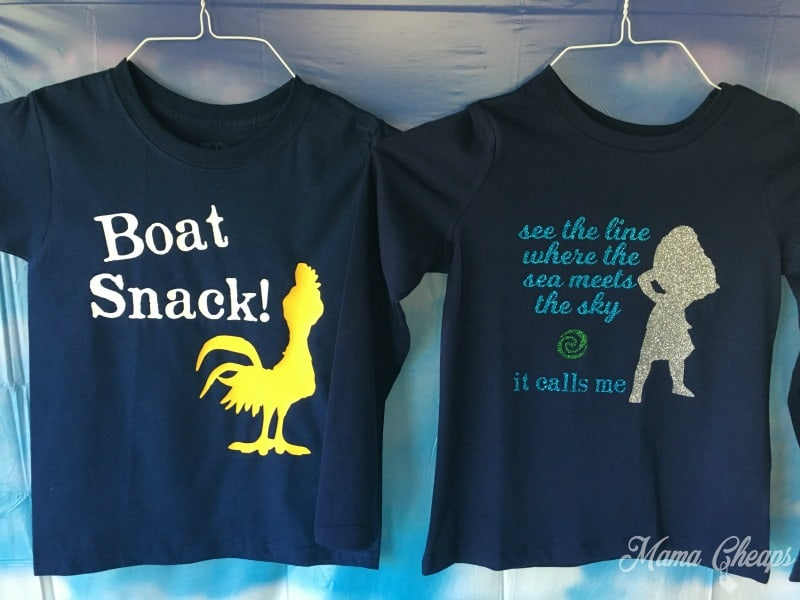 DIY Moana Shirts