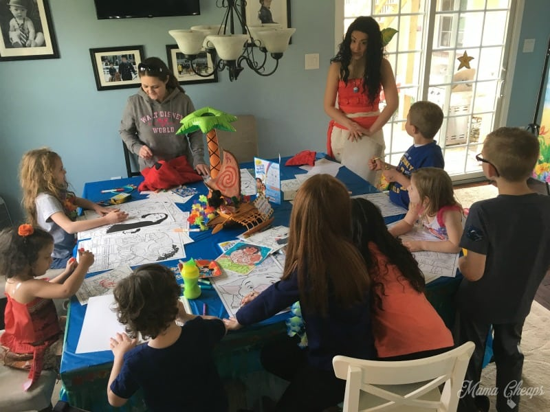 Moana Coloring with Kids
