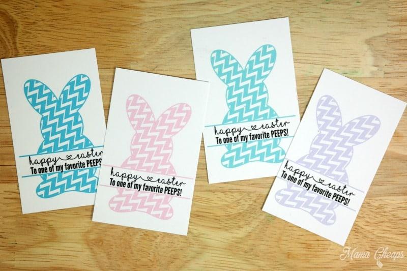 Printable Bunny Tags