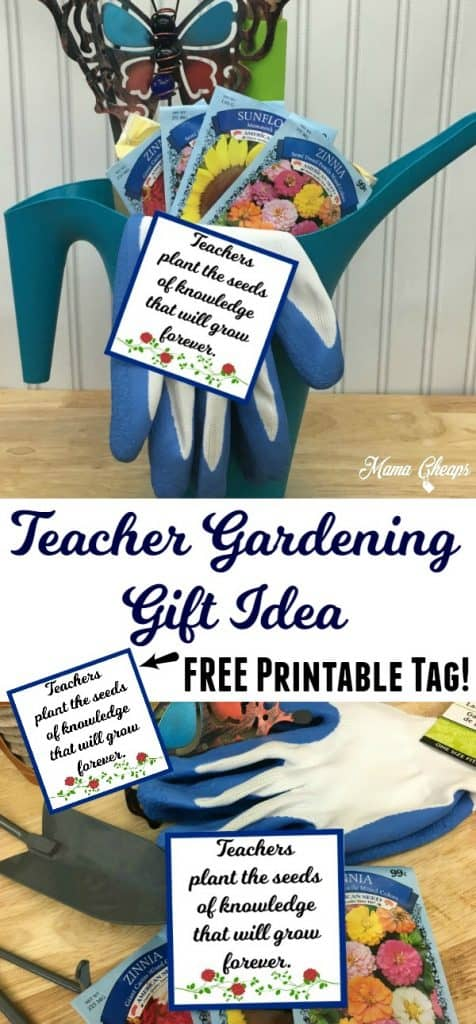 Teacher Gardening Gift Idea