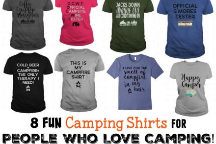 8 Fun Camping Shirts for People Who Love Camping!
