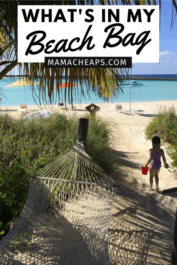 Beach Bag Essentials PIN