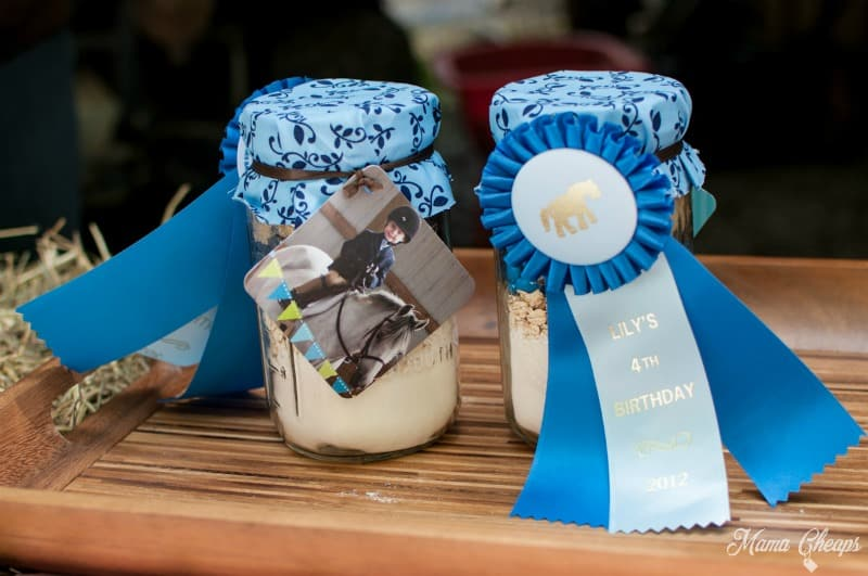 Blue Ribbon Pony Cookies