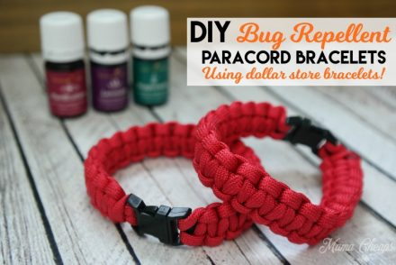 DIY Bug Repellent Paracord Bracelet