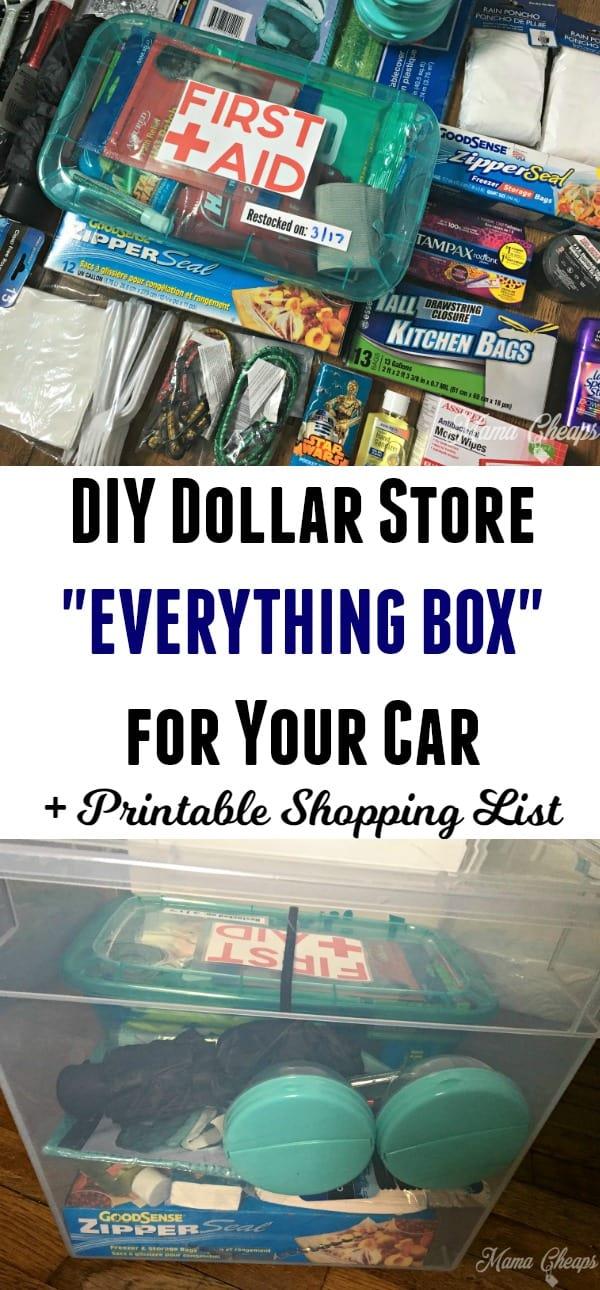DIY Dollar Store Everything Box