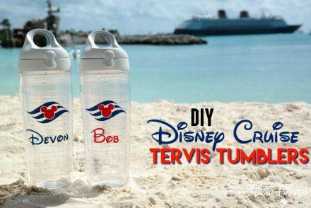 Disney Cruise Tervis Tumbler