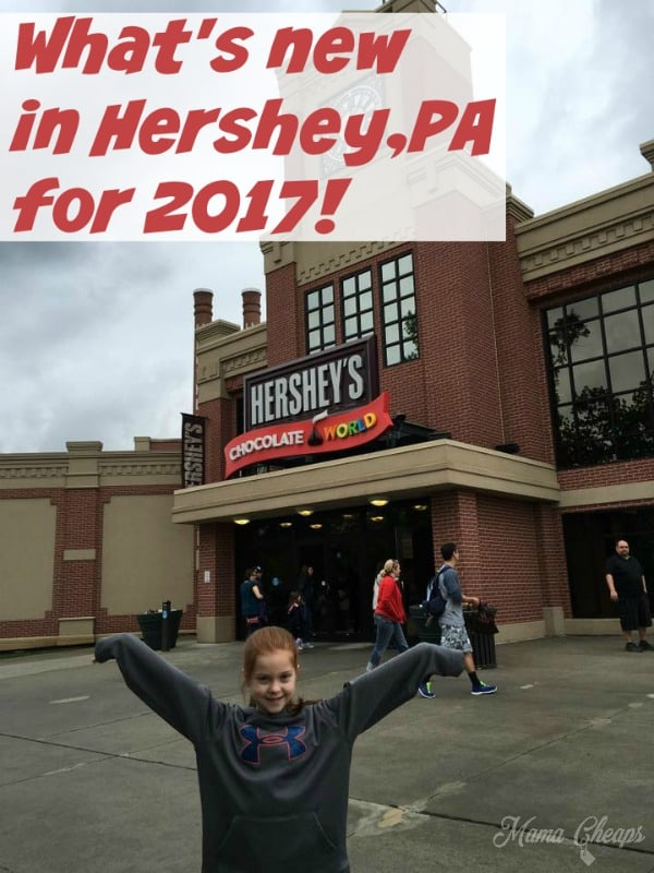 New to Hershey PA 2017
