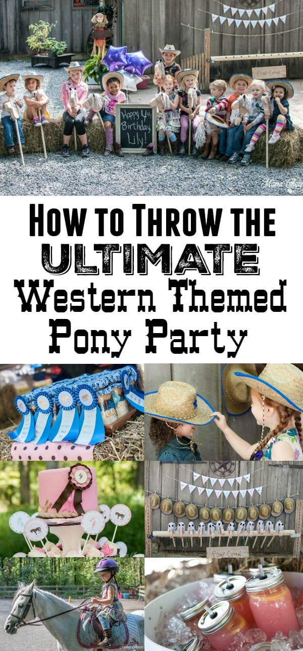 How to Throw a Western Pony Party