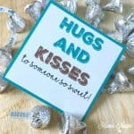 Hugs and Kisses Gift Tag